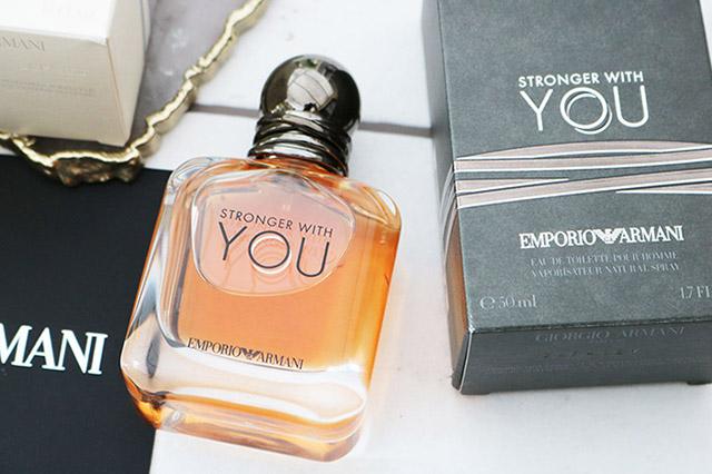 Осенние ароматы для мужчин - Giorgio Armani Emporio Armani Stronger With You