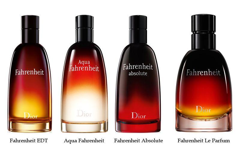 Коллекция ароматов Christian Dior Fahrenheit