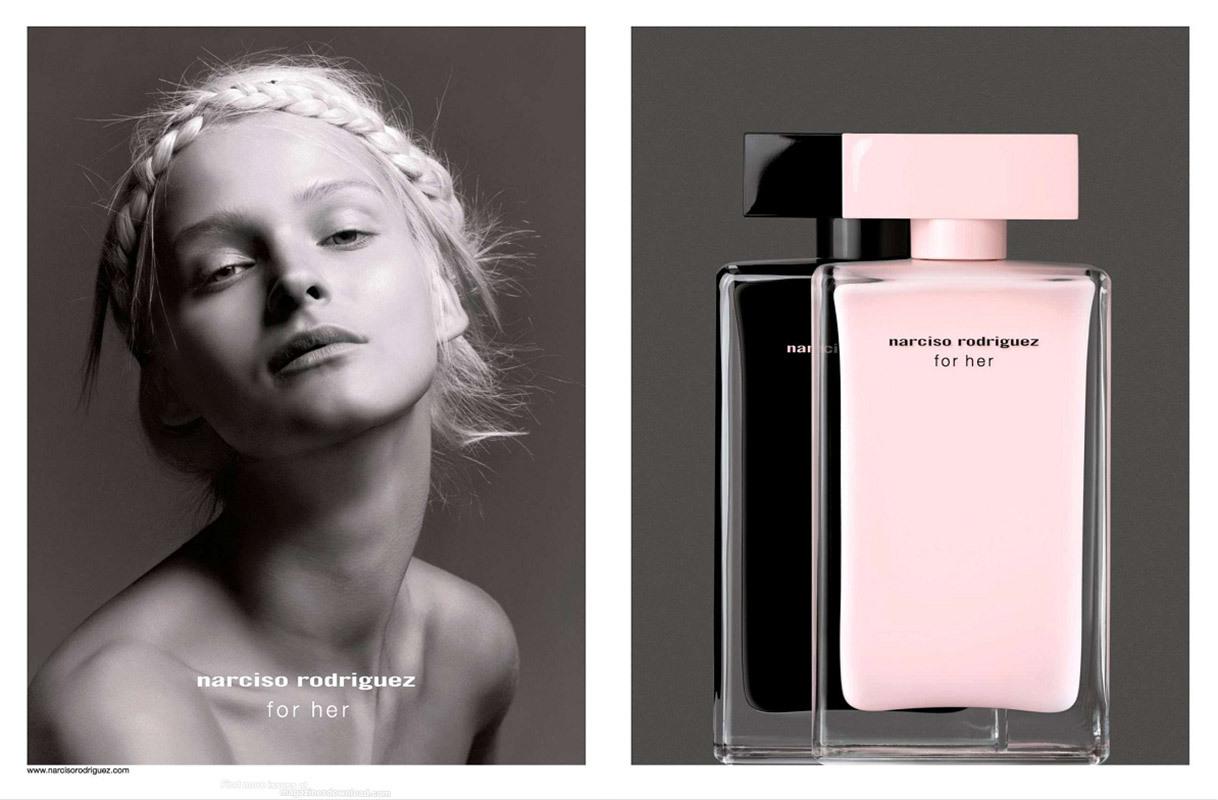 Лучшие весенние ароматы для женщин - Narciso Rodriguez For Her Eau de Toilette